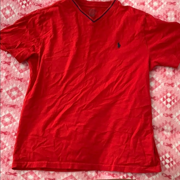 Polo by Ralph Lauren Tops - Red polo shirt.